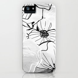 Black Waters iPhone Case