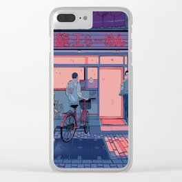 Getting Ramen Clear iPhone Case