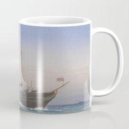 Vintage British Royal Yacht Illustration (1870) Coffee Mug