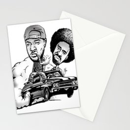 Jacka and the Mac named Dre Stationery Cards