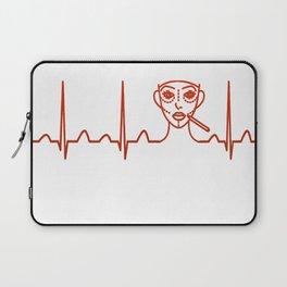 Plastic Surgeon Heartbeat Laptop Sleeve