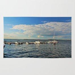 Mid-afternoon on Lake Mendota Rug