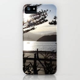 Akaroa Harbour iPhone Case