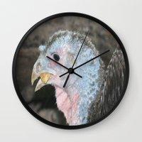 turkey Wall Clocks featuring Turkey! by Twilight Wolf