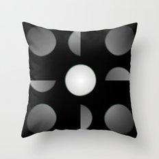 Moon Phrase Throw Pillow