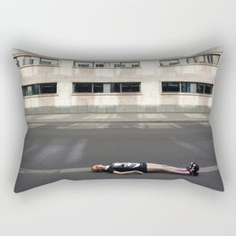 Wait in Berlin Rectangular Pillow