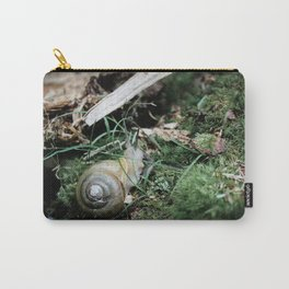 A Snail's Home Carry-All Pouch