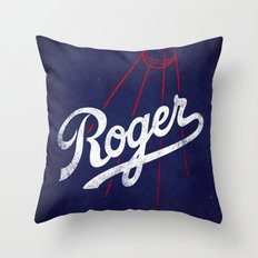 Roger That! Throw Pillow