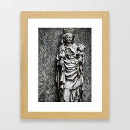 Age, another planet surely Framed Art Print