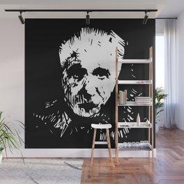 Einstein Wall Mural