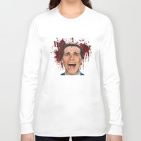 american psycho Long Sleeve T-shirts featuring American Psycho by mMel
