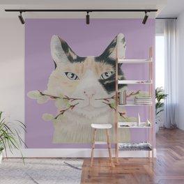 Calico Cat-ti-tude Wall Mural