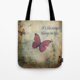 The Simple Things Tote Bag