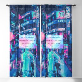 We are all dreamers Blackout Curtain