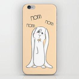 Nom, nom, nom iPhone Skin