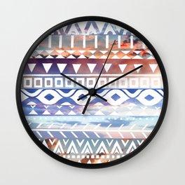 Tribal Sunsets Wall Clock
