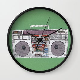 paper jams Wall Clock