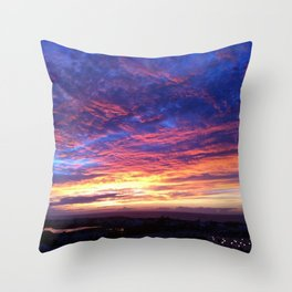 MOROCCAN SKY  Throw Pillow