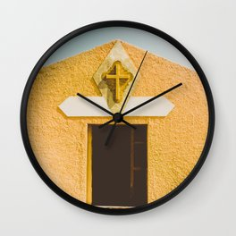 Desert Sin Wall Clock