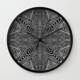 Optical Star Wall Clock