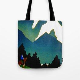 See America Montana - Retro Travel Poster Tote Bag