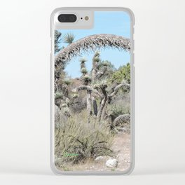 Joshua Tree Arch Clear iPhone Case