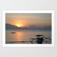 Quiet Sunrise Art Print