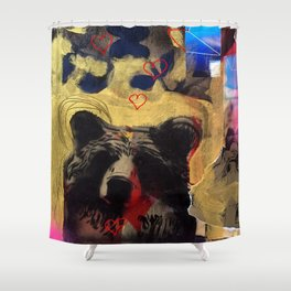 Bear Love Shower Curtain