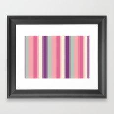 I Heart Patterns #009 Framed Art Print