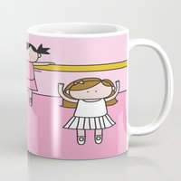 ballet Mugs featuring Ballet by oekie