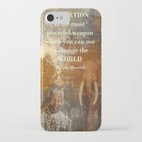 mandela iPhone & iPod Cases featuring Mandela by Shalisa Photography
