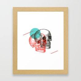 Twinskulls Framed Art Print