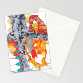 Utah Abstract Stationery Cards