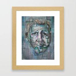 Written in Composition Framed Art Print