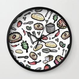Kitchen things Wall Clock