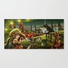 Glastonbury 2014 Canvas Print