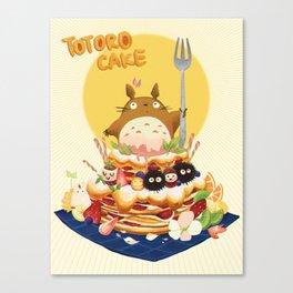 Ghibli Cake! Canvas Print