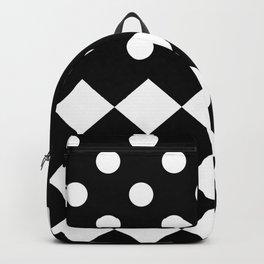 INTERIOR (BLACK-WHITE) Backpack