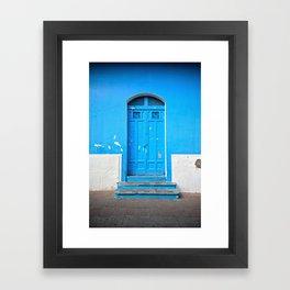 Superazul Framed Art Print