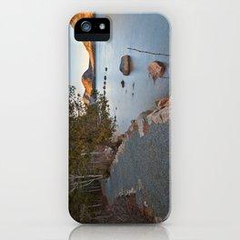 Jordan Pond Trail iPhone Case