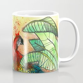 Macaw with Pitahaya, Viva la Vida Coffee Mug