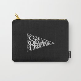 Stay Humble Pennant Carry-All Pouch