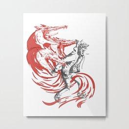 Rawr! Metal Print