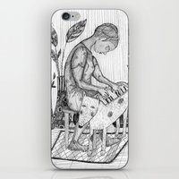 piano iPhone & iPod Skins featuring piano by Agnes Laczo