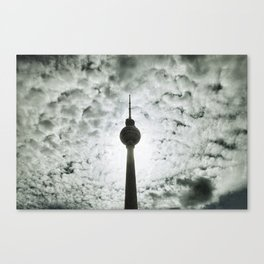 Berlin Television Tower Canvas Print