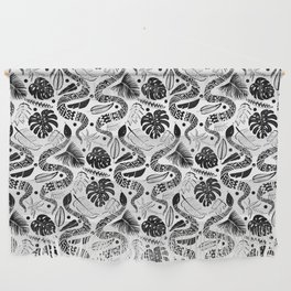 White Snakes Wall Hanging