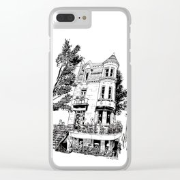 Fantasy of Saint Denis and Roy Clear iPhone Case