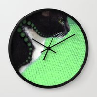 law Wall Clocks featuring Proximity Law by Roprats.