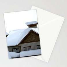 Snowed Inn Stationery Cards