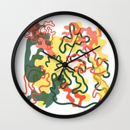 Extrovert Camouflage Wall Clock